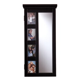 boston loft furnishings beckstead black wallmount jewelry armoire