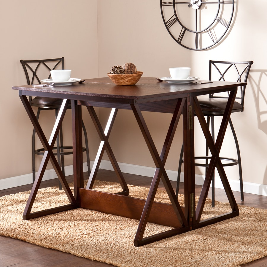 Boston Loft Furnishings Eastfield Espresso Rectangular Extending Counter Table