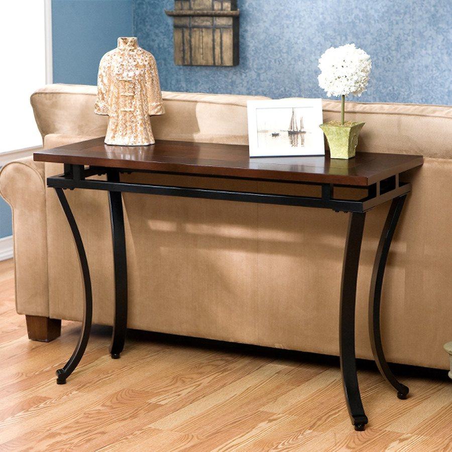 Boston Loft Furnishings Pierson Espresso Console Table