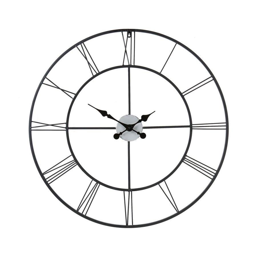 Boston Loft Furnishings Roma Analog Round Indoor Wall Clock