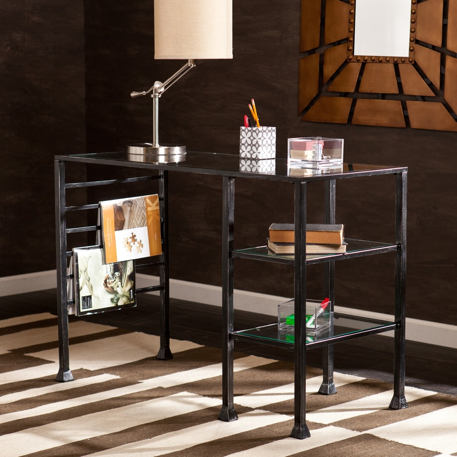 Boston Loft Furnishings Greer Black Writing Desk