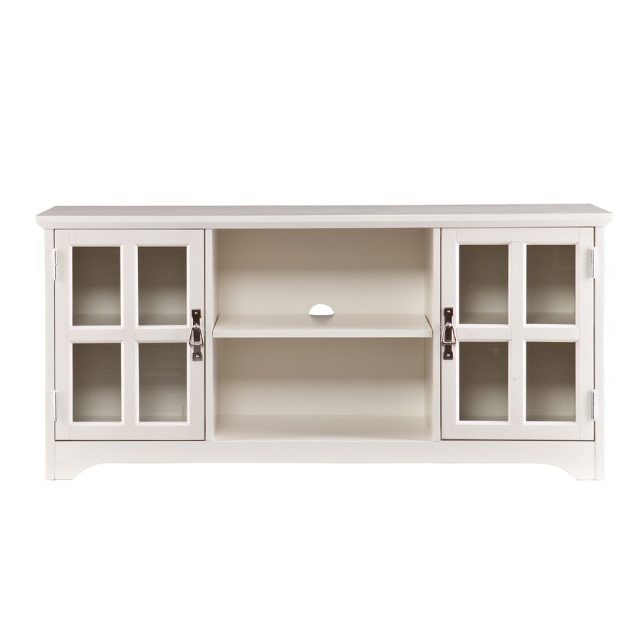 Boston Loft Furnishings Hudson White TV Cabinet