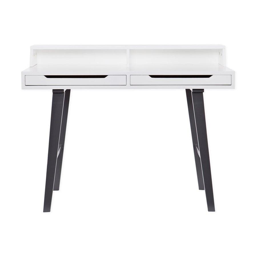 Holly & Martin Tohos White/Dark Gray Writing Desk
