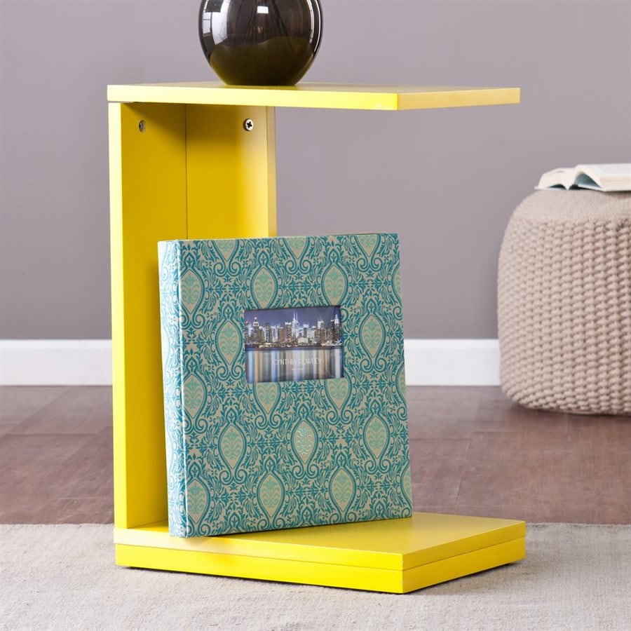 Holly & Martin Bocks Citrine Rectangular End Table