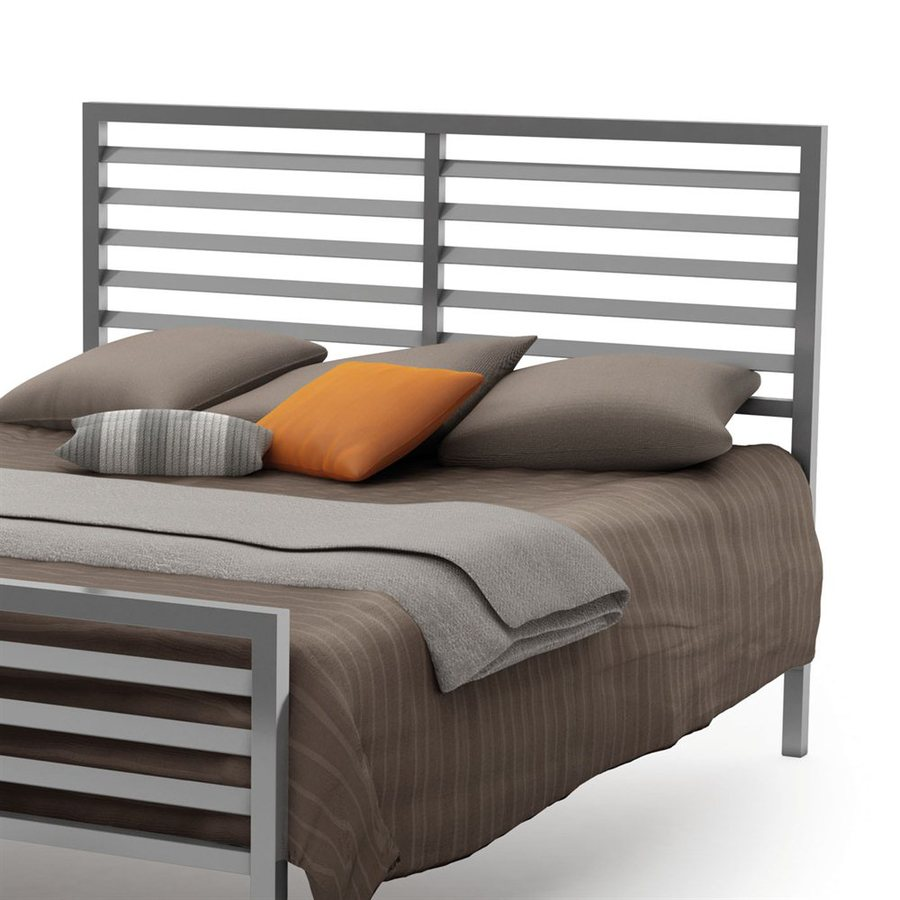 Amisco Theodore Magnetite Queen Headboard