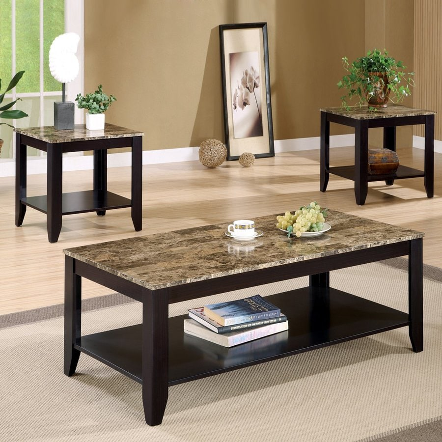 Coaster Fine Furniture 3 Piece Accent Table Set