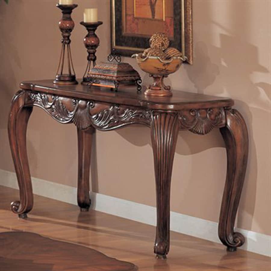 Coaster Fine Furniture Composite Venetian Sofa Table At Lowes Com