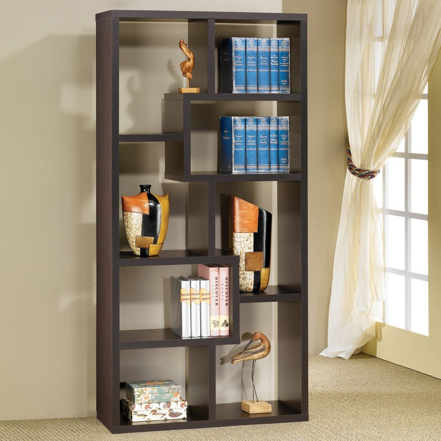 Coaster Fine Furniture Cappuccino 8-Shelf Bookcase