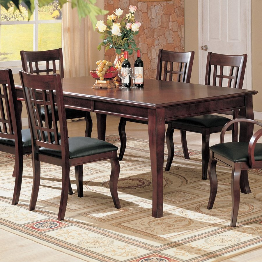 Coaster Fine Furniture Newhouse Cherry Rectangular Dining Table