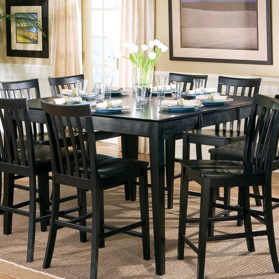 Coaster Fine Furniture Pines Black Rectangular Dining Table
