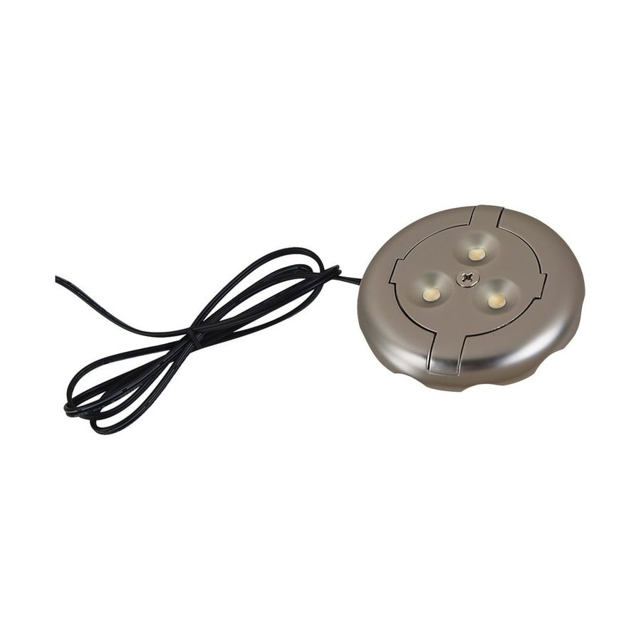 Ambiance by Sea Gull 3-in Hardwired/Plug-in Under Cabinet LED Puck Light