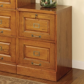 Coaster Fine Furniture Oak 2 Drawer File Cabinet