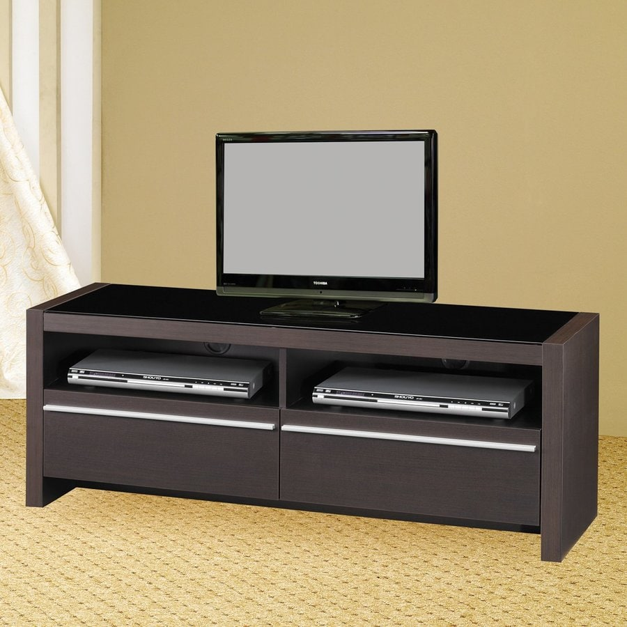 Coaster Fine Furniture Cappuccino Rectangular TV Cabinet
