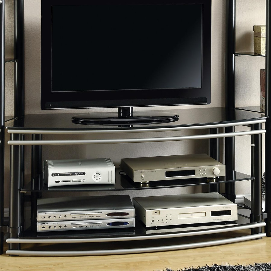 Coaster Fine Furniture Black TV Cabinet
