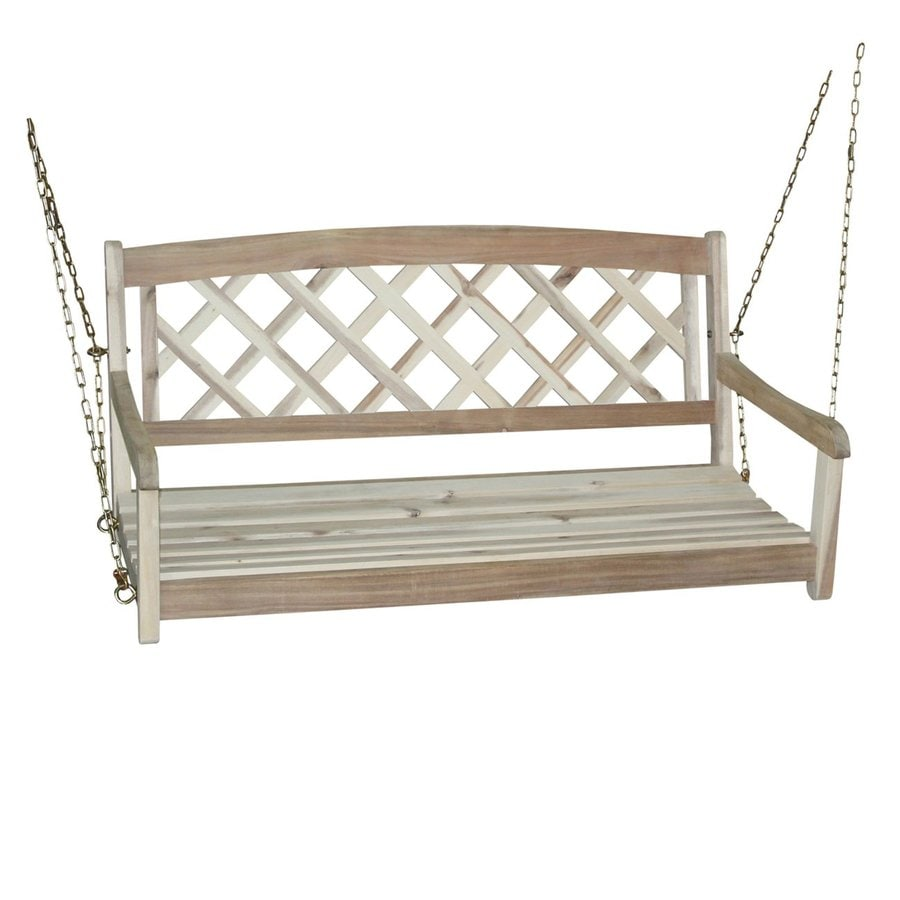 shop international concepts unfinished porch swing at