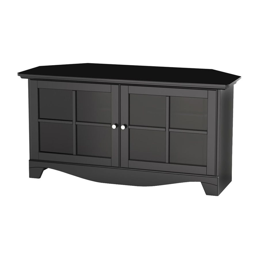 Nexera Pinnacle Black TV Stand