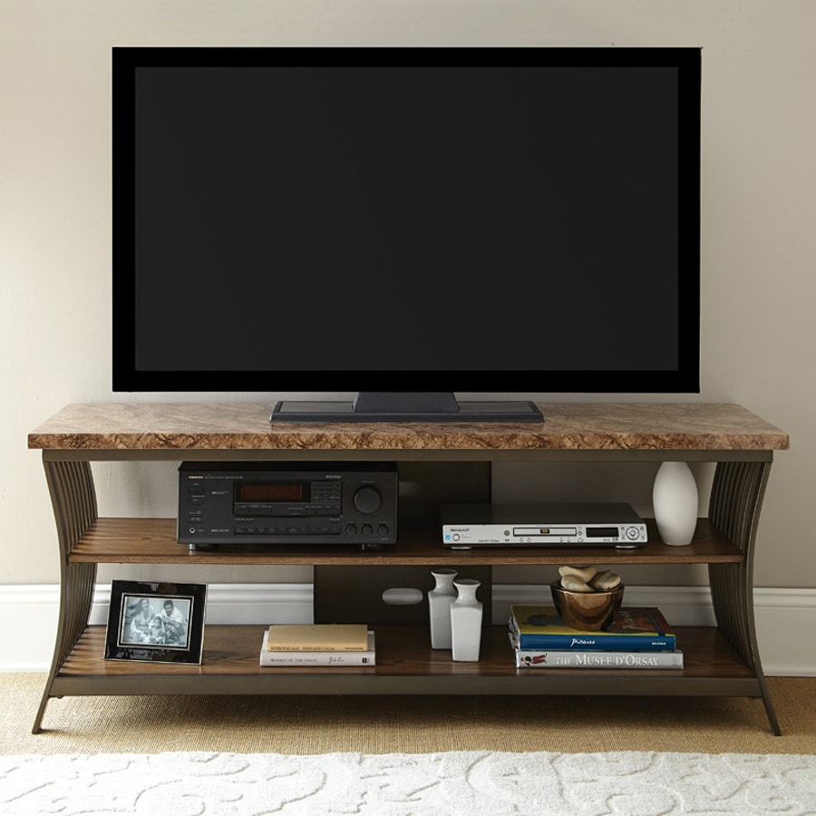 Steve Silver Company Collison Tv Cabinet With Integrated Tv Mount At