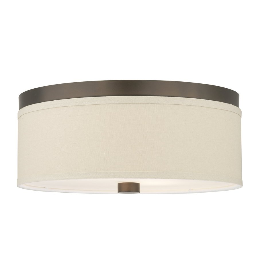Philips Embarcadero 20.5-in W Sorrel Bronze Ceiling Flush Mount Light