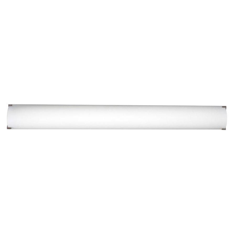 Philips Edge 1-Light 3.875-in Satin Nickel Rectangle Vanity Light