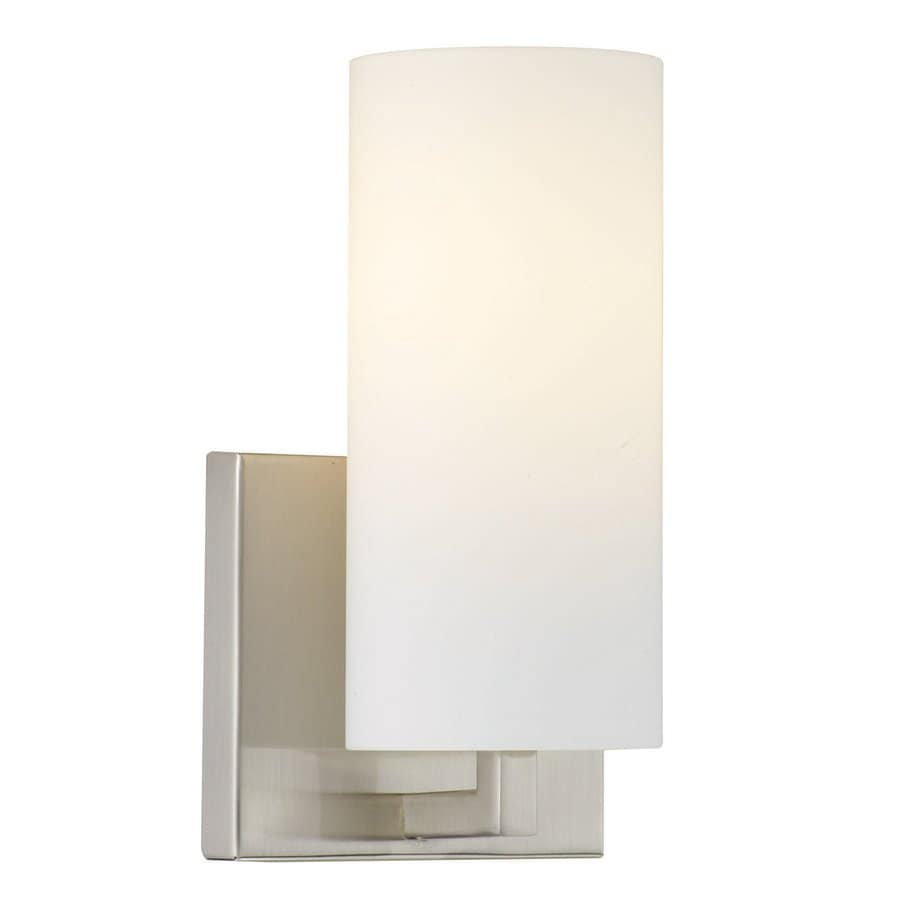 Philips 4.625-in W 1-Light Satin nickel Pocket Wall Sconce