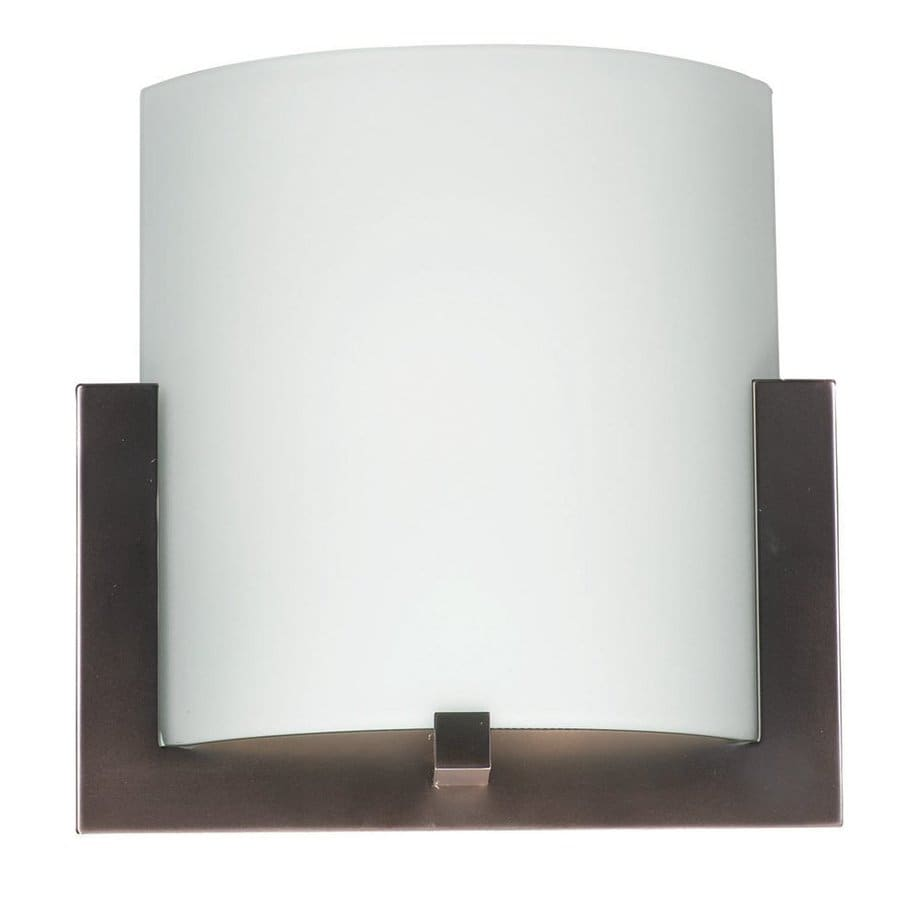 Philips 12-in W 1-Light Merlot bronze Pocket Wall Sconce