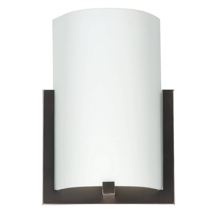Philips 8.5-in W 1-Light Merlot Bronze Pocket Hardwired Wall Sconce