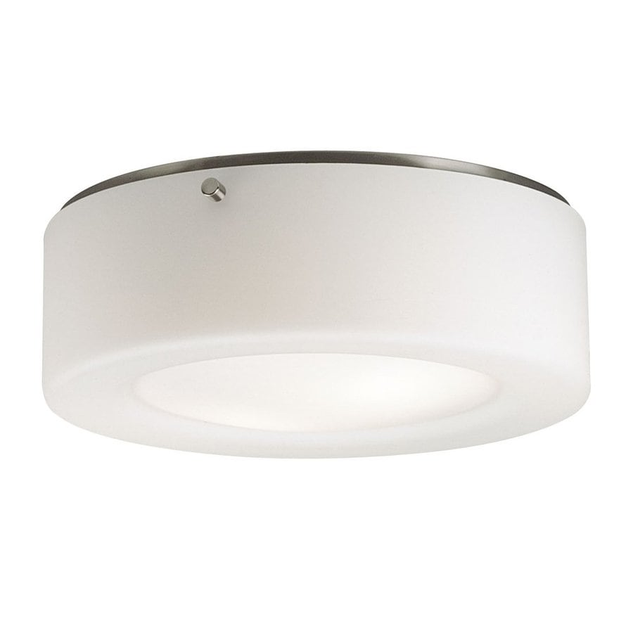 Philips 11.5-in W Satin Nickel Flush Mount Light