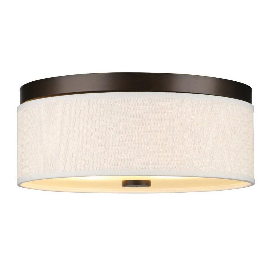 Philips Cassandra 14.875-in W Sorrel Bronze Ceiling Flush Mount Light