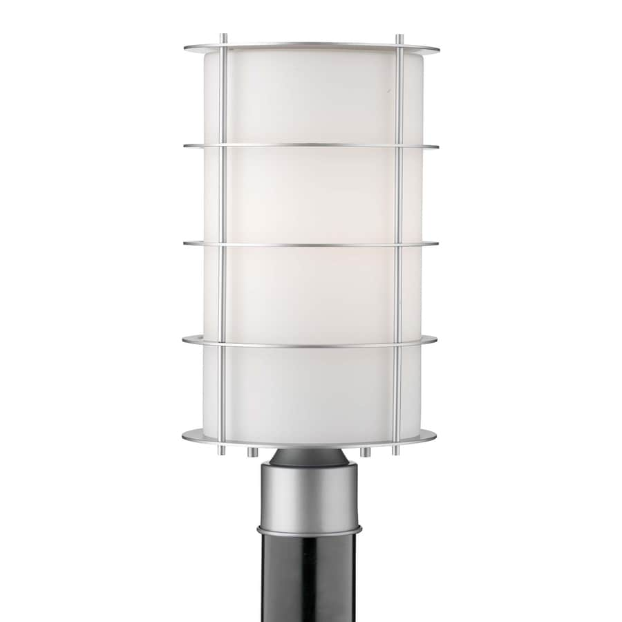 Philips Hollywood Hills 16-in H Vista Silver Post Light