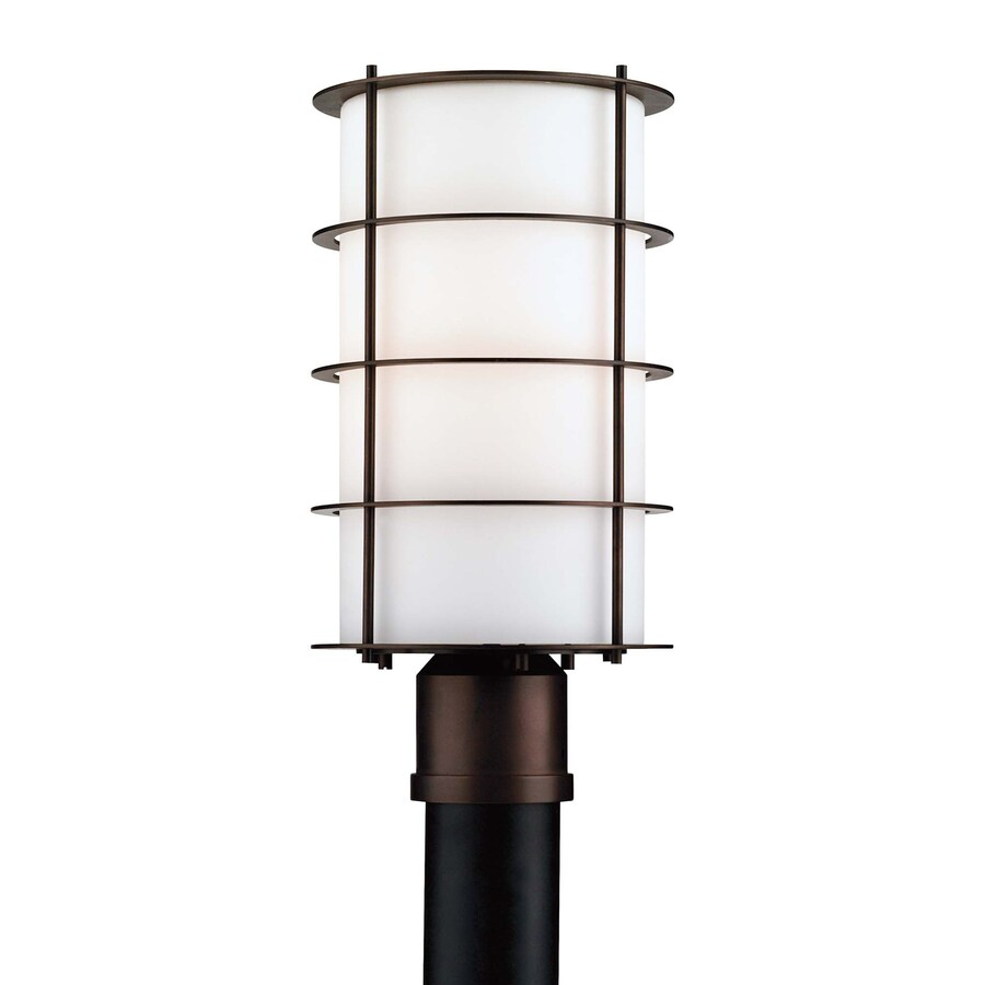 Philips Hollywood Hills 16-in H Deep Bronze Standard Post Light