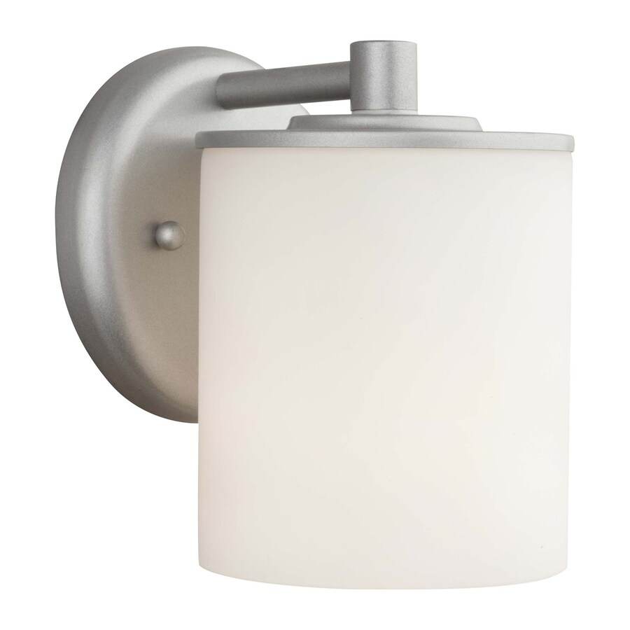Philips Midnight 7-in H Vista Silver Medium Base (E-26) Outdoor Wall Light