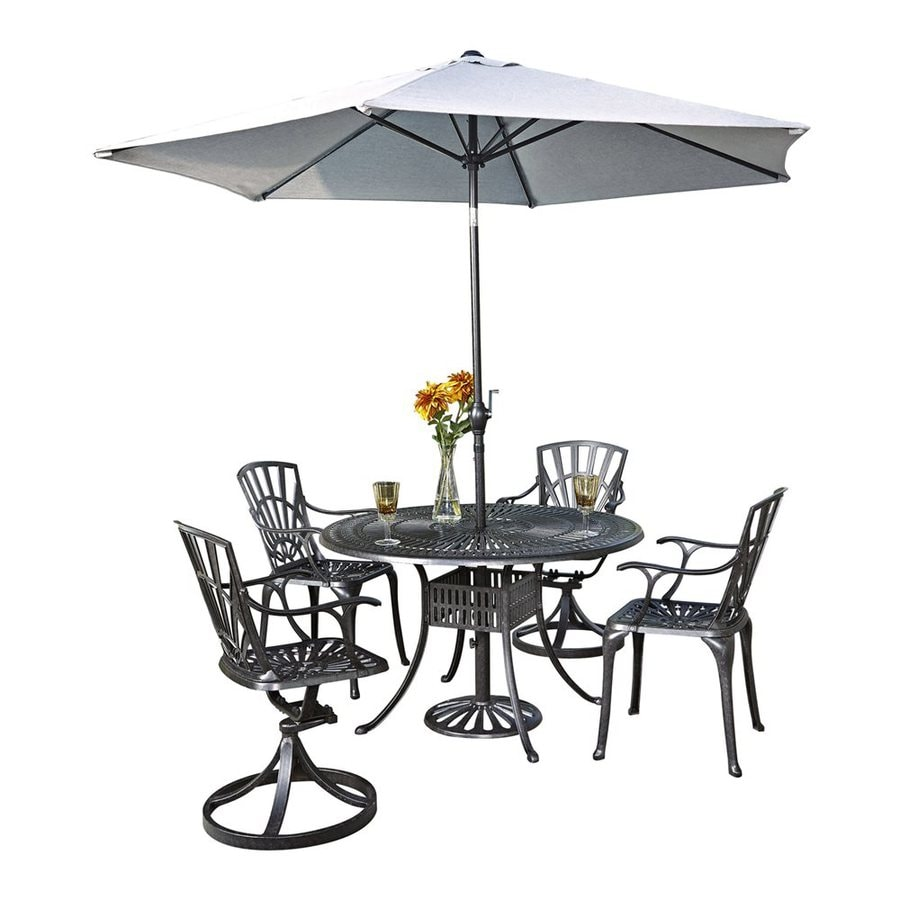 25 Brilliant Patio Dining Sets With Umbrella Included