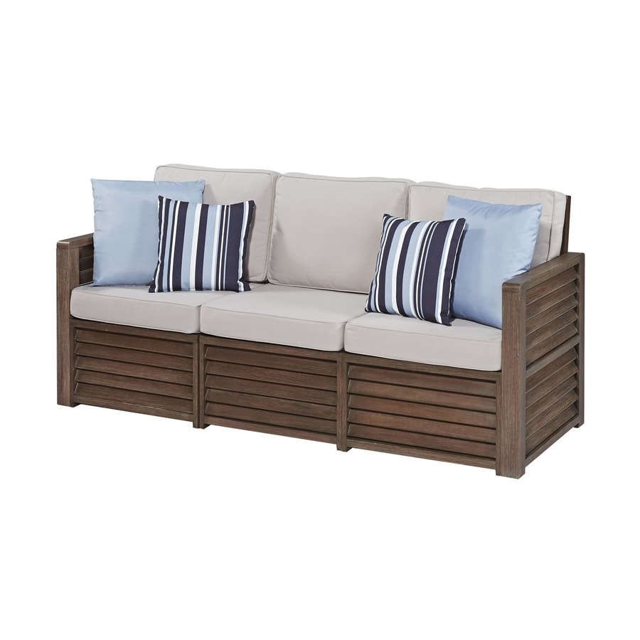 Home Styles Barnside Solid Aged Barnside Shorea Sofa