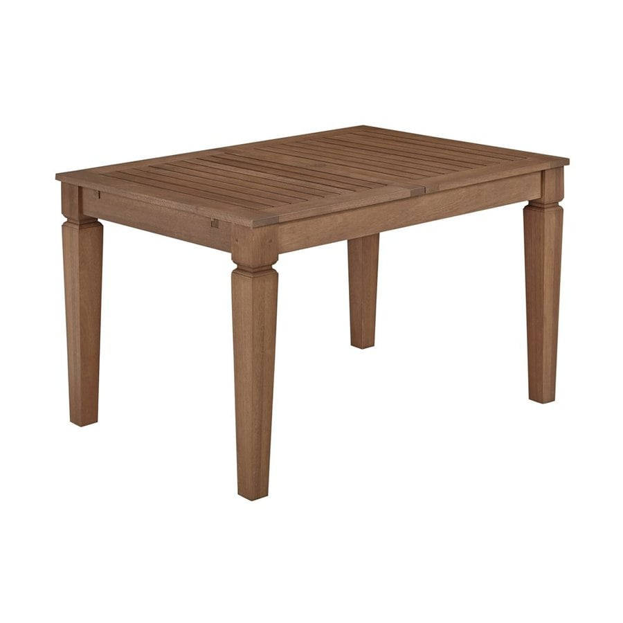 Home Styles Bali Hai 36-in W x 49.5-in L Rectangle Shorea Dining Table