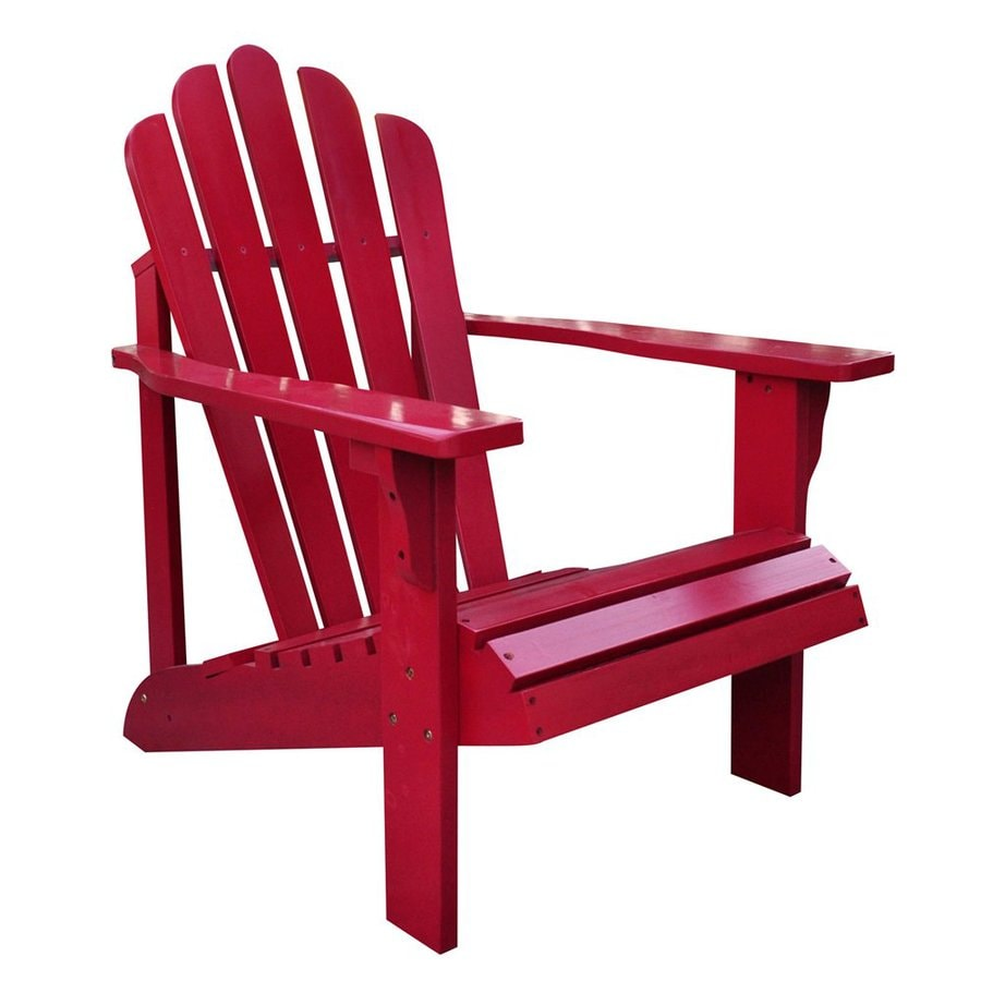 Shine Company Westport Chili Pepper Cedar Adirondack ChairShop Shine Company Westport Chili Pepper Cedar Adirondack Chair at  . Adirondack Furniture Company. Home Design Ideas