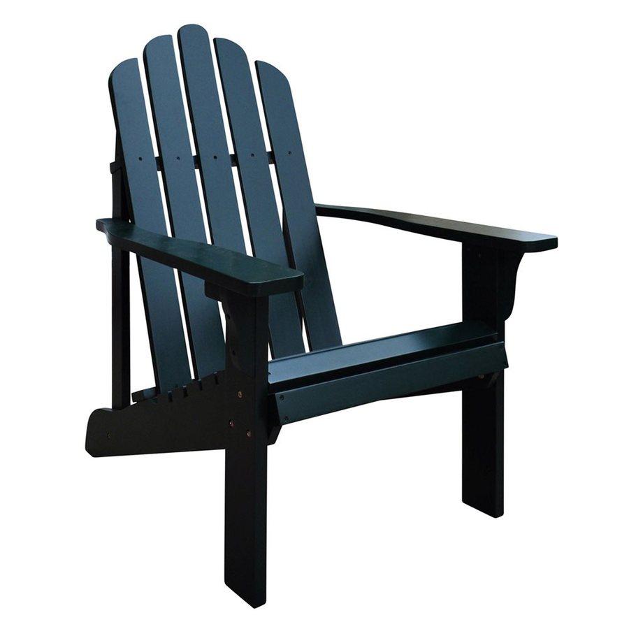 Shine Company Marina Dark Green Cedar Patio Adirondack Chair