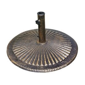 Ordinaire Blue Wave Bronze Patio Umbrella Base