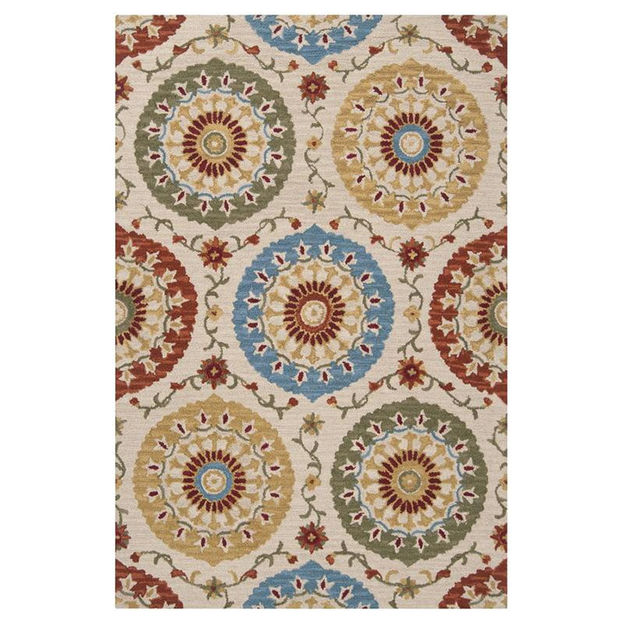 Surya Centennial Rectangular Indoor Hand-Hooked Area Rug (Common: 5 x 8; Actual: 5-ft W x 8-ft L)