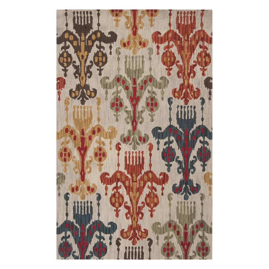 Surya Centennial Rectangular Indoor Hand-Hooked Area Rug (Common: 8 x 11; Actual: 8-ft W x 11-ft L)