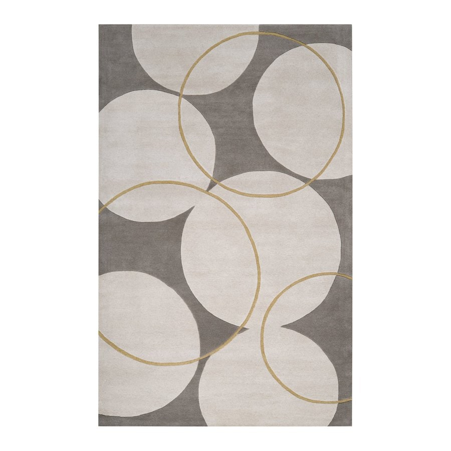 Surya Goa Rectangular Indoor Tufted Area Rug (Common: 5 x 8; Actual: 5-ft W x 8-ft L)