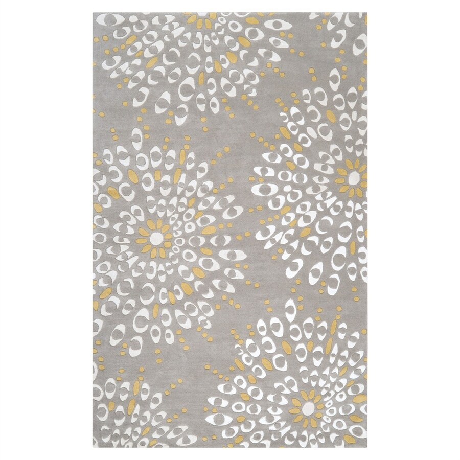 Surya Naya Rectangular Indoor Tufted Area Rug (Common: 5 x 8; Actual: 5-ft W x 8-ft L)