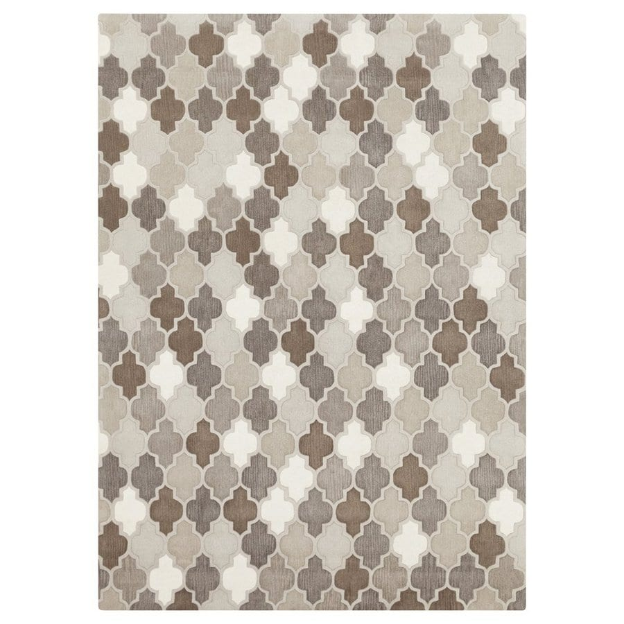 Surya Oasis Rectangular Indoor Tufted Area Rug (Common: 8 x 11; Actual: 8-ft W x 11-ft L)