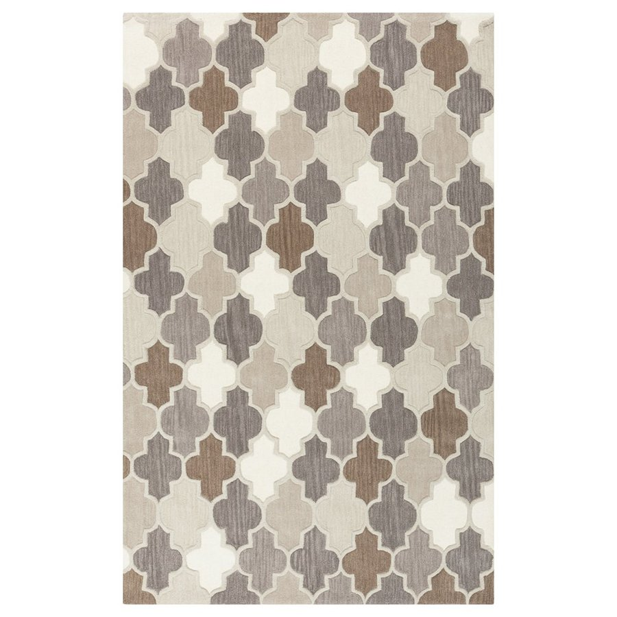 Surya Oasis Rectangular Indoor/Outdoor Tufted Area Rug (Common: 9 x 13; Actual: 9-ft W x 13-ft L)