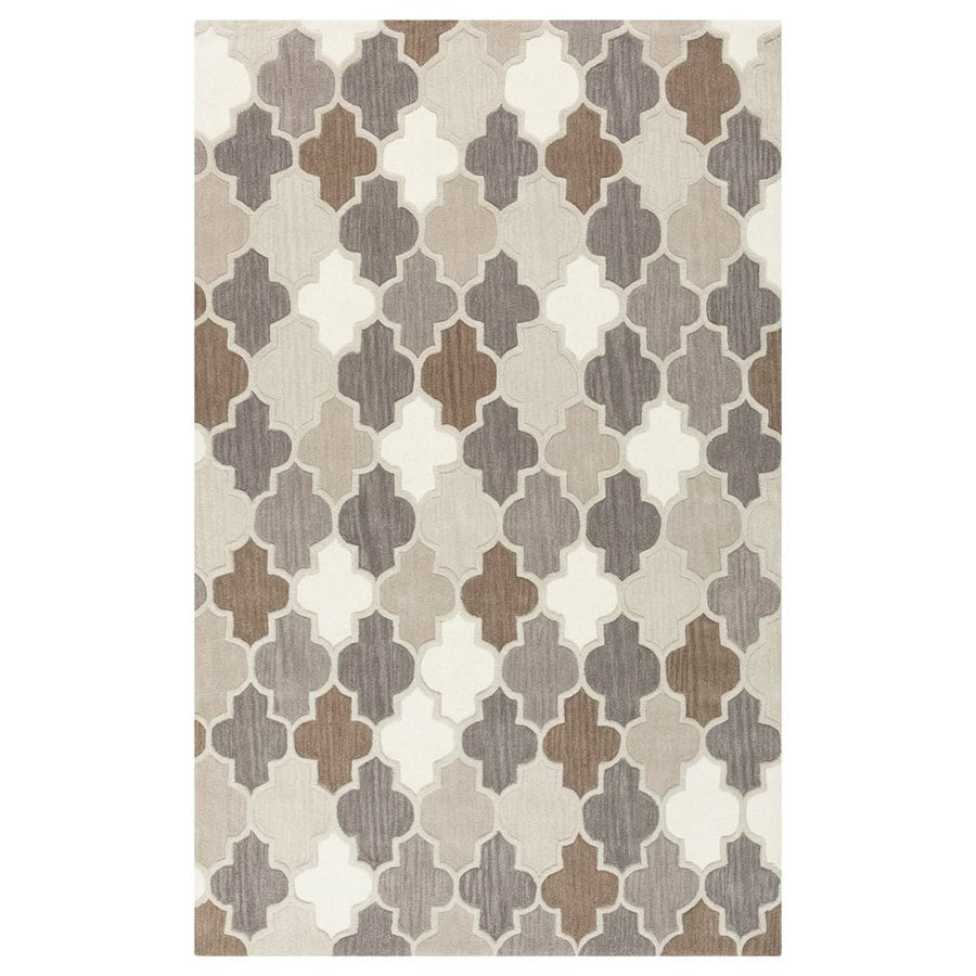 Surya Oasis Rectangular Indoor/Outdoor Tufted Area Rug (Common: 9 x 13; Actual: 108-in W x 156-in L)