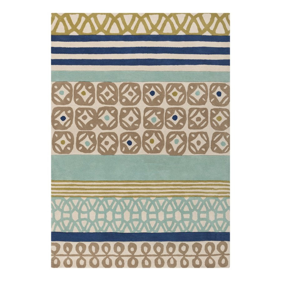 Surya Scion Rectangular Indoor Tufted Area Rug (Common: 8 x 11; Actual: 8-ft W x 11-ft L)