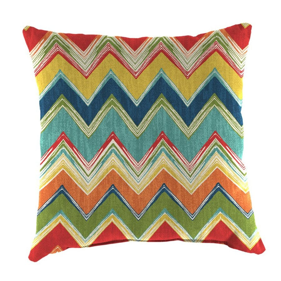 Jordan Manufacturing Culloden Fiesta Stripe Square Throw Outdoor Decorative Pillow