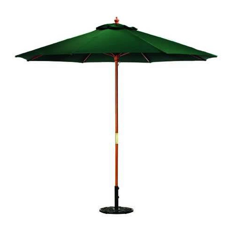 shop jordan manufacturing green market patio umbrella