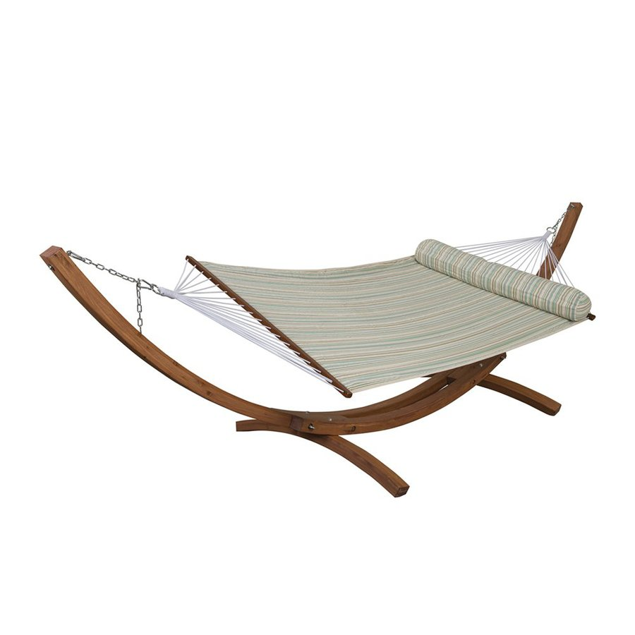 RST Brands Bay Breeze Quilted Hammock Stand Included