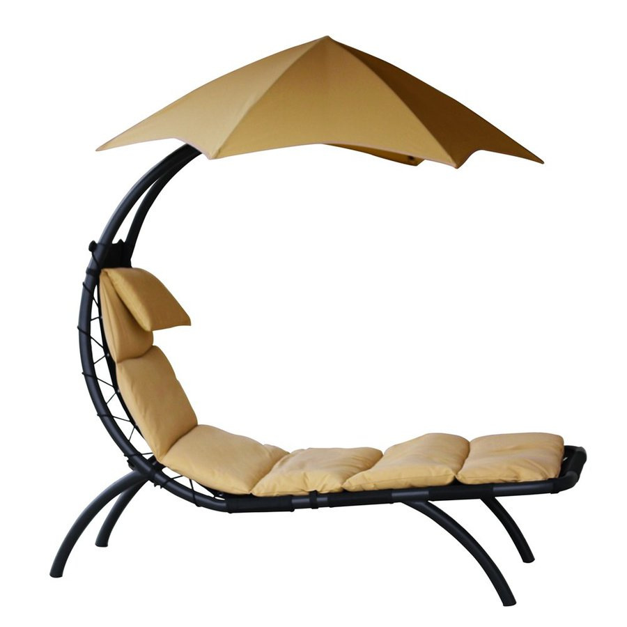 Vivere Oil-Rubbed Bronze Patio Chaise Lounge