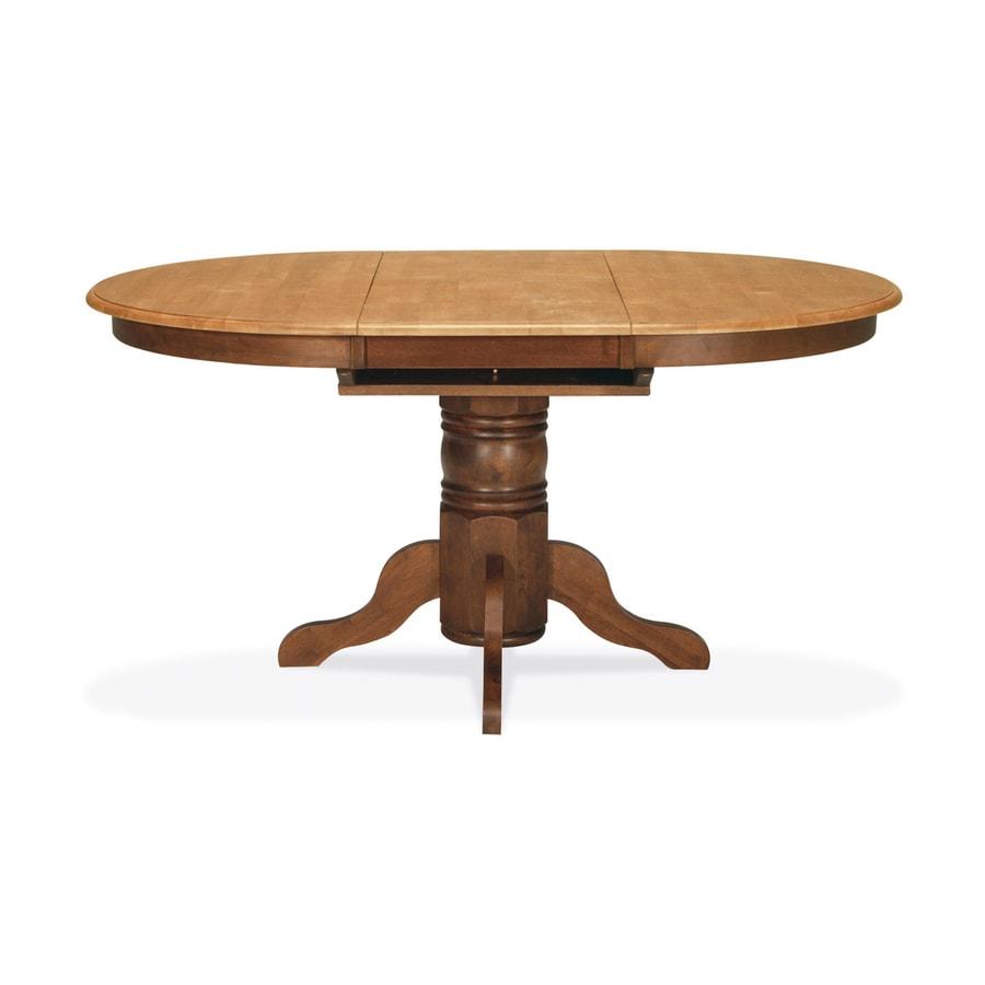 International Concepts Madison Park Cinnamon/Espresso Oval Dining Table